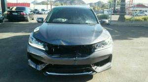 Front damaged